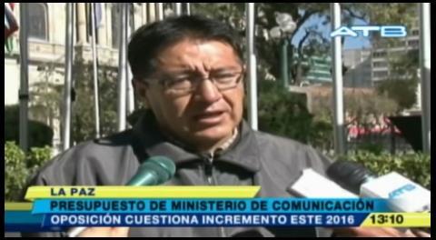 Opositores critican presupuesto del Ministerio de Comunicación