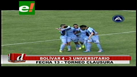 Bolívar sufre, gana y se mete en la pelea liguera