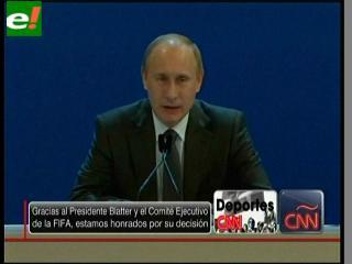 Putin asegura que Rusia estará lista para el Mundial 2018