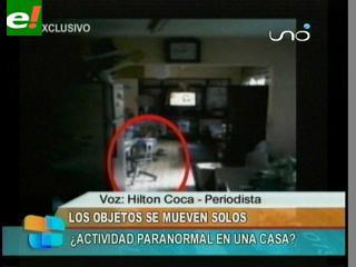 Actividad paranormal en una casa de Santa Cruz