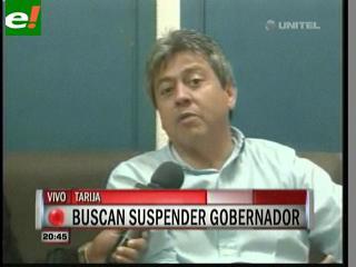 """Mario Cossío: """"No entregaré el cargo a quien no le corresponde"""""""