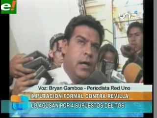 Ministerio Público presenta imputación formal en contra del Alcalde Luis Revilla