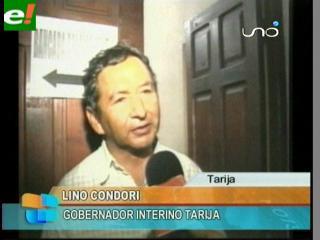 Lino Condori tomó el mando en Tarija