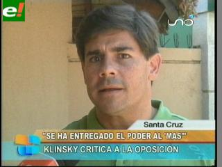 """Klinsky: """"La destitución de Cossío es resultado de una mala estrategia autonomista"""""""