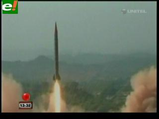 Pakistán prueba con éxito un misil nuclear