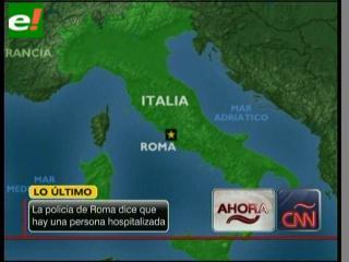 Alertadas todas las embajadas de Roma tras las explosiones en Chile y Suiza