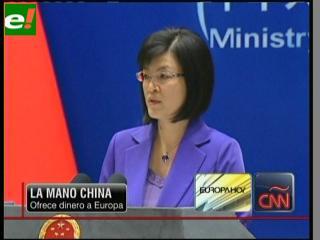 China ofrece dinero a Europa