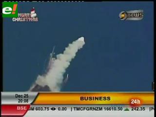 Explota cohete en India que llevaba un satélite de comunicaciones