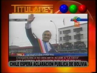 Chile exige aclaración a Bolivia por amenaza de demanda en La Haya