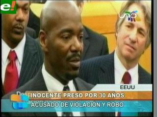 Declarado inocente después de estar 30 años en la cárcel
