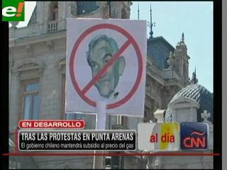 Gobierno chileno pide tranquilidad a los habitantes de Punta Arenas ante el alza del precio del gas
