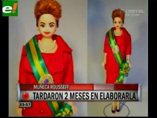 """Diseñaron una muñeca """"Barbie"""" de Dilma Rousseff"""