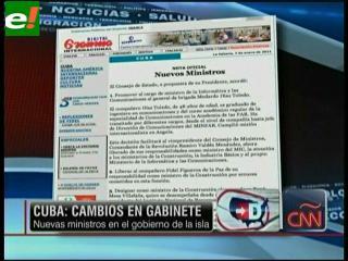 Raúl Castro cambia el gabinete para mantener la revolución