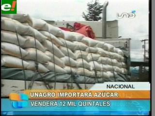 UNAGRO importa un millón de kilos de azúcar colombiana para abastecer el mercado nacional