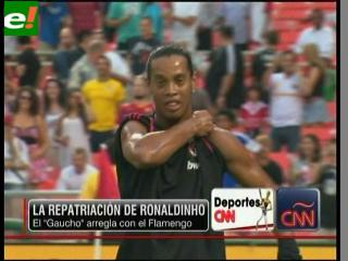 Ronaldinho ya es del Flamengo