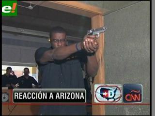 Impulsa tiroteo en Arizona debate sobre uso de armas en EEUU