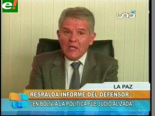 Defensor del Pueblo revela que la impunidad se impone a la justicia