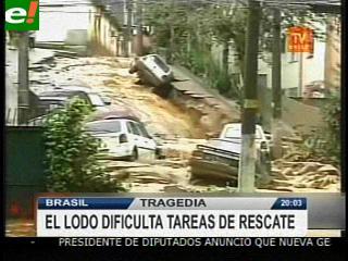 Las lluvias torrenciales dejan más de 350 muertos en Brasil
