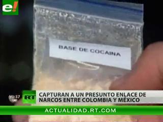 Capturado enlace de cártel de Sinaloa en Colombia