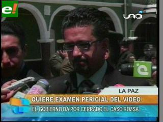 """Llorenti pide investigar vídeo de """"El viejo"""""""
