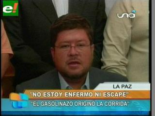 Doria Medina retornó al país y rechazó las acusaciones sobre el corralito bancario