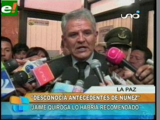 Villena no renunciará al cargo, asegura desconocer antecedentes de Núñez del Prado