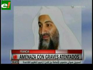 Osama Bin Laden amenaza a Francia