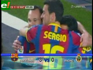 Barcelona gana con facilidad