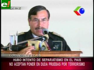 Caso Rózsa: FFAA respalda operativo antiterrorista