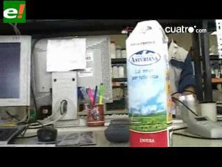 ¿Qué pasa con la leche cuando caduca?