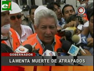 Gobernador se solidariza con los familiares de las víctimas