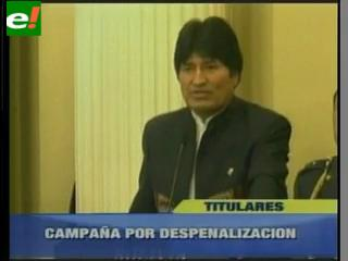 Gobierno no busca despenalizar la planta de coca sino el akulliku