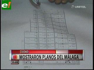 Por primera vez muestran los planos del edificio Málaga