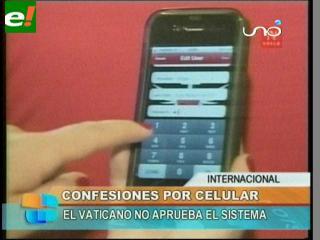 Obispo habilita confesiones por celular por menos de dos dólares