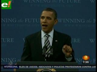Obama no le cree a Mubarak