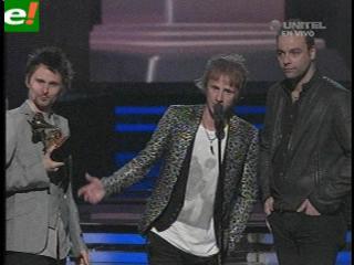 """""""The Resistance"""" de Muse gana el Grammy a Mejor Álbum Rock"""