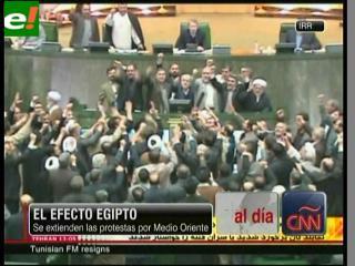 Revuelta popular egipcia se propaga por Medio Oriente