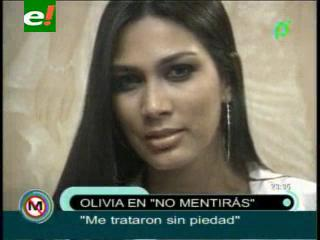 Olivia Pinheiro se confiesa, pero no despeja dudas sobre su edad