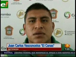 """Detienen a """"El Canas"""", sicario que victimó a 16 personas en Neza"""