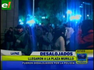 Gasifican a universitarios en La Paz