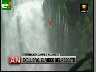 Tragedia en las Cataratas del Iguazú