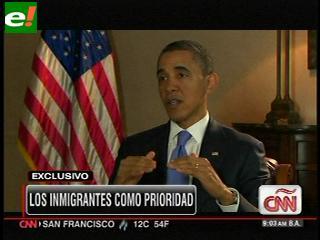 """Obama: Calderón tiene """"justa frustración"""" por la fuerza de los cárteles"""