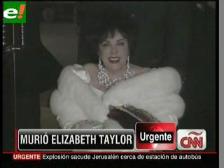 Elizabeth Taylor: Los ojos de Hollywood se cierran