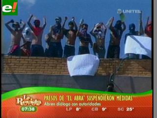 Reos detienen protesta y esperan a Llorenti