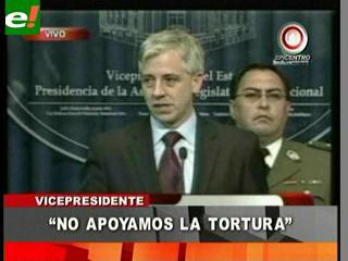 Gobierno descalifica a senador masista que justifica la tortura