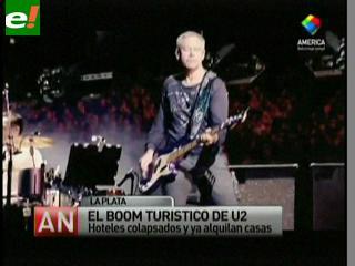 """Comenzaron a montar """"La Garra"""" de U2 en La Plata"""