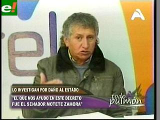 """Solares: """"Evo no abuses del poder, a mí nadie me escarmienta"""""""