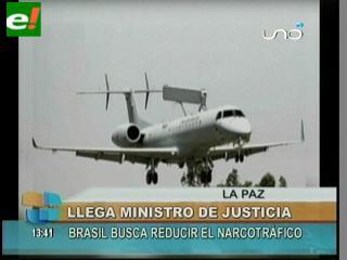 Bolivia y Brasil abogan por fortalecer la lucha antidroga