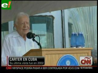 Raúl Castro reitera a Carter su disposición de dialogar con EE.UU. pero en igualdad