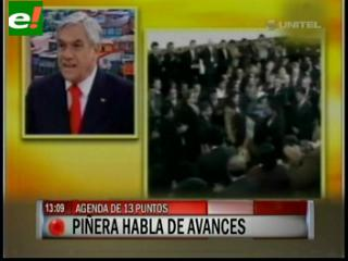 """Piñera: """"La petición boliviana de una salida soberana al mar es imposible"""""""